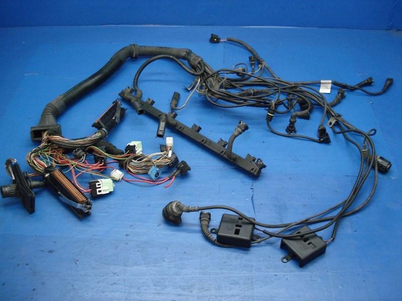 autobahn parts electrical bmw e39 528i oem complete engine wiring rh autobahnparts com bmw e39 radio wiring harness BMW Battery Wiring Harness