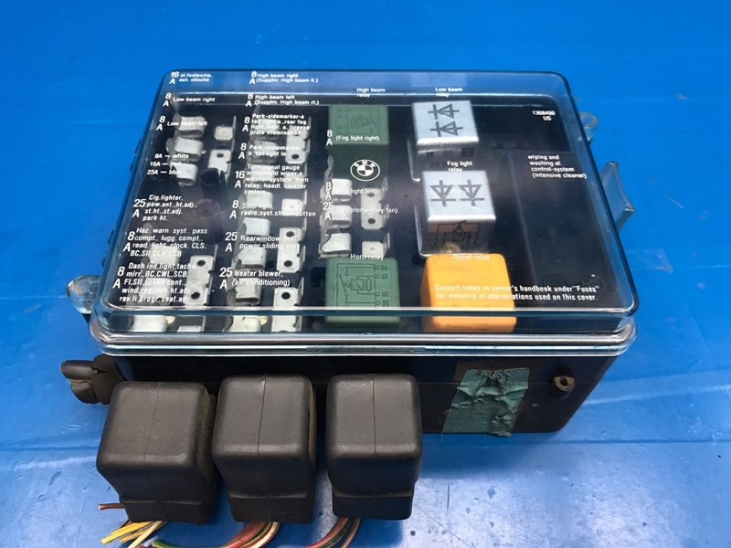 1 395?v=636196714720000000 autobahn parts electrical, bmw e28 5' e23 7' oem fuse box part 1987 bmw 325i fuse box diagram at nearapp.co