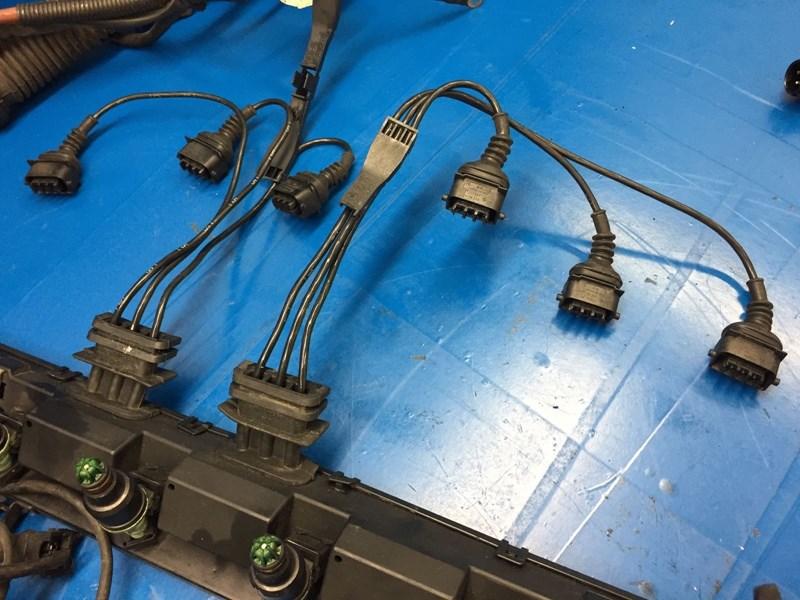 bmw, 1995, e36, m3, s50, 3 0l, m50, oem, obd1, wiring, harness, injector,  rail