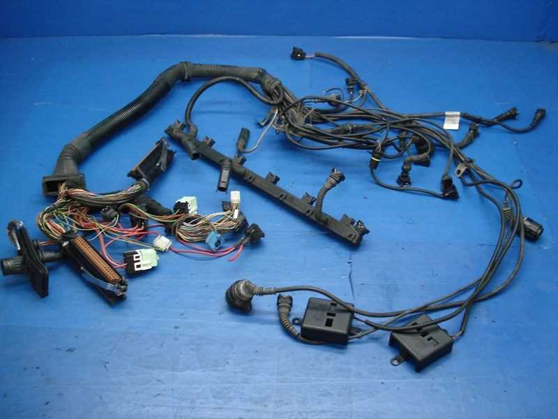 autobahn parts electrical bmw e39 528i oem complete engine wiring harness dme egs. Black Bedroom Furniture Sets. Home Design Ideas