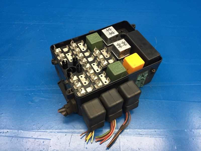 e28 fuse box diagram autobahn parts - electrical, bmw e28 5' e23 7' oem fuse ...