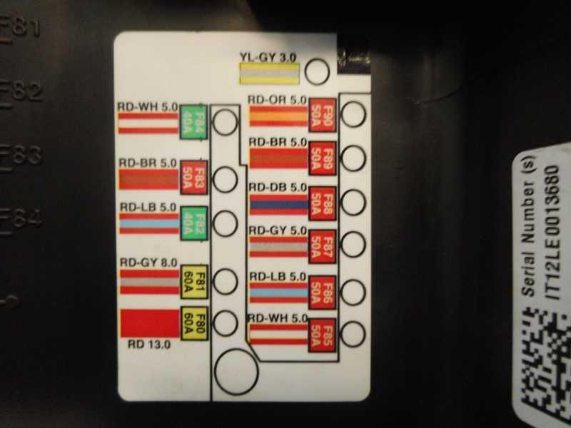 1013272-00-e, tesla, model s, 2012, 2013, 2014, 2015, 2016, oem, 12v,  battery, fuse, box, block